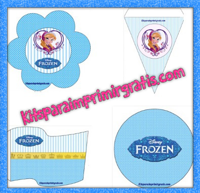 Kit de Anna Frozen