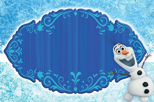 Frozen Birthday Invitation Cards