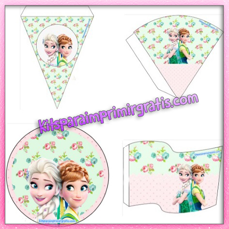 Kit de Frozen Elsa y Anna