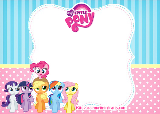 Kit de My Little Pony para descargar gratis | Kits para imprimir ...