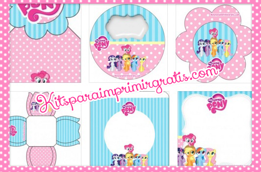 Kits imprimibles de My Little Pony - Imprimibles de My Little Pony - Cumpleaños de My Little Pony - Banderines de My Little Pony - Etiquetas Little Pony - Marcadores de página Little Pony - Adornos Little Pony - Stickers Little Pony -Wrappers Little Pony - Toppers Little Pony - IDeas para decoración de cumpleaños Little Pony -