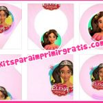 Kit imprimible de Elena de Avalor para descargar gratis